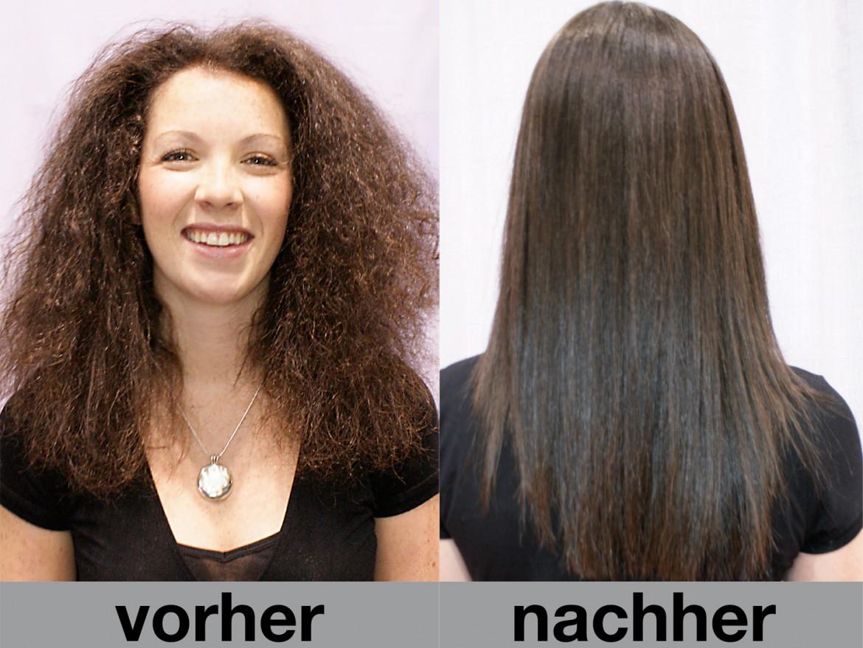 Haare Mittmann Keratin Behandlung